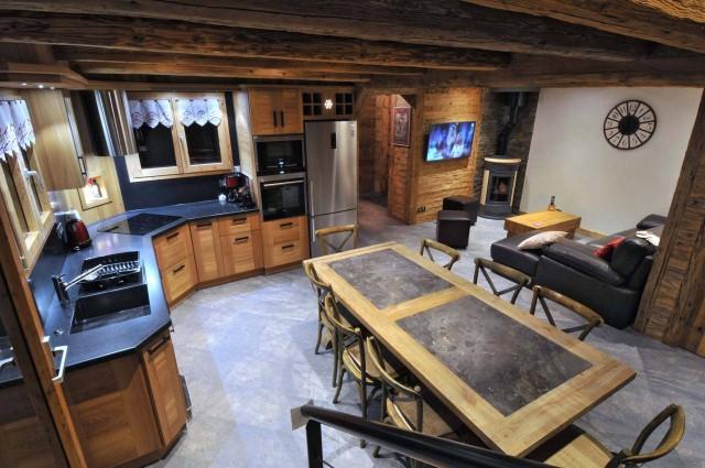 Appartement dans Chalet Imelda, Pièce de vie Châtel