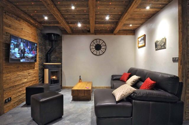 Appartement dans Chalet Imelda, Salon Châtel