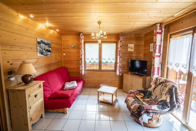 Appartement dans Chalet L'Igloo 2 Salon Châtel