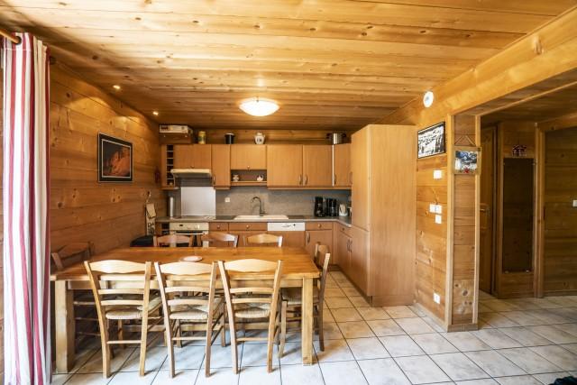Appartement dans Chalet L'Igloo 3 Cuisine Châtel 2