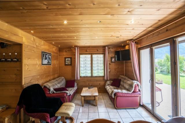 Appartement dans Chalet L'Igloo 3 Salon Châtel 2