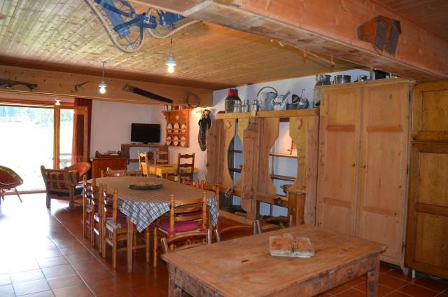 Appartement dans chalet la clairière, Séjour, Châtel Alpes du Nord