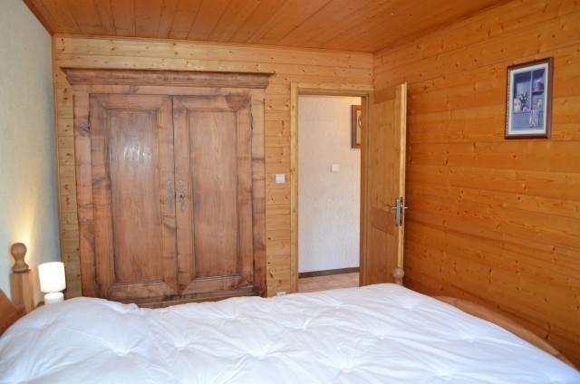 Appartement dans chalet la Ferme, Chambre 1 lit double, Châtel Portes du Soleil