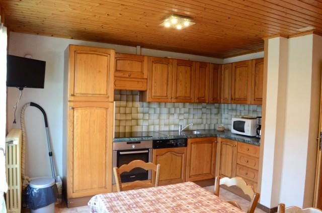Appartement dans chalet la Ferme, Cuisine , Châtel