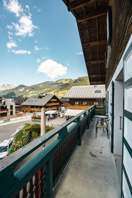 Appartement dans Chalet La Galettiere Balcon Châtel 2