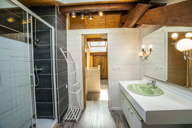 Appartement dans Chalet La Galettiere Salle de Douche Châtel France