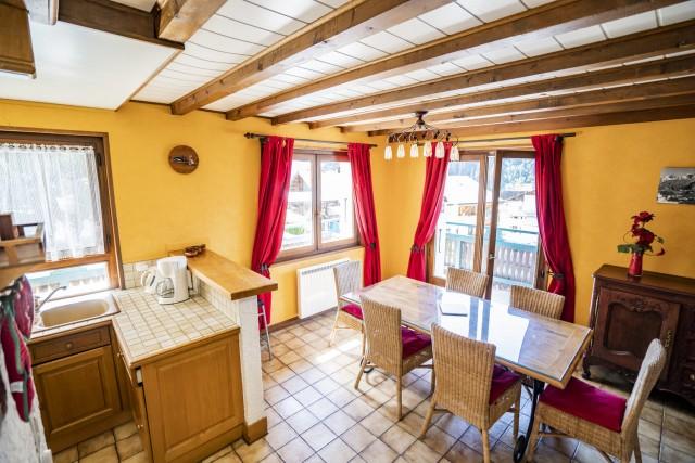 Appartement dans Chalet La Galettiere Séjour Châtel Village