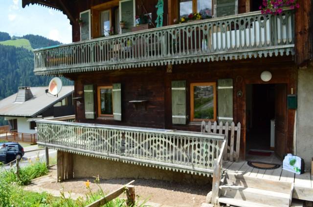 Appartement dans Chalet La Louise Extérieur Châtel