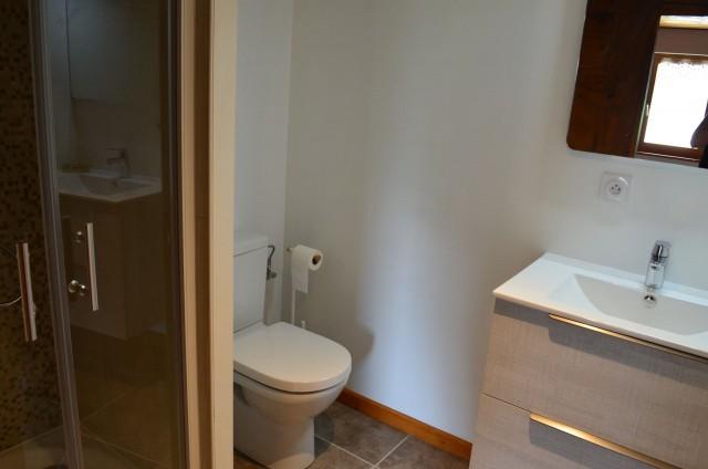 Appartement dans Chalet La Louise Salle de Douche Châtel
