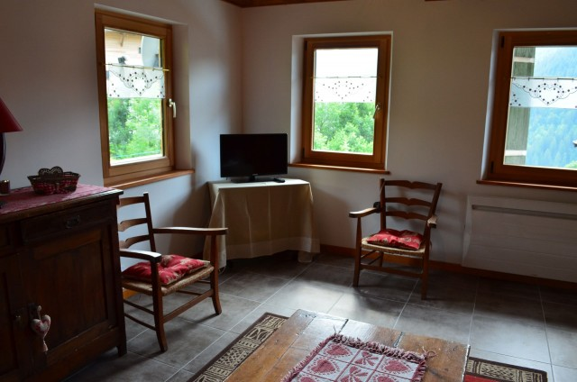 Appartement dans Chalet La Louise Salon Châtel 74