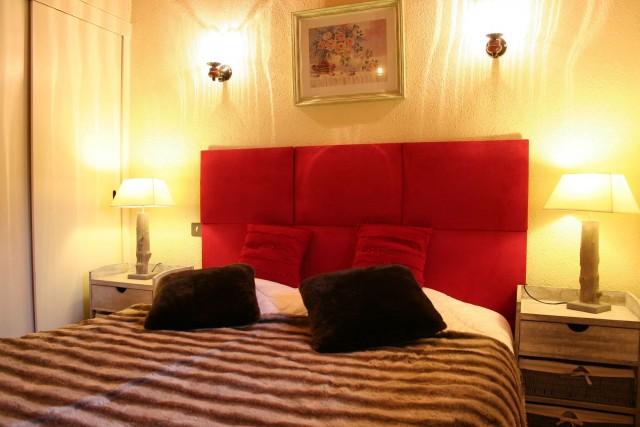 Appartement dans chalet la minaudière, Chambre, Châtel Portes du Soleil