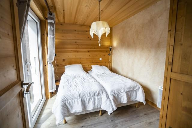 Appartement dans Chalet La Puce Chambre Châtel  Hiver