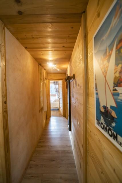 Appartement dans Chalet La Puce Couloir Châtel