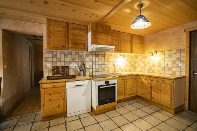 Appartement dans Chalet La Puce Cuisine Châtel