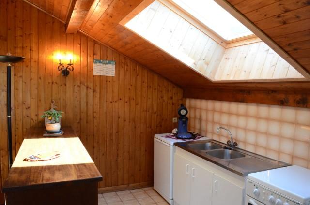 Appartement dans chalet le Bivouac, Cuisine, Châtel