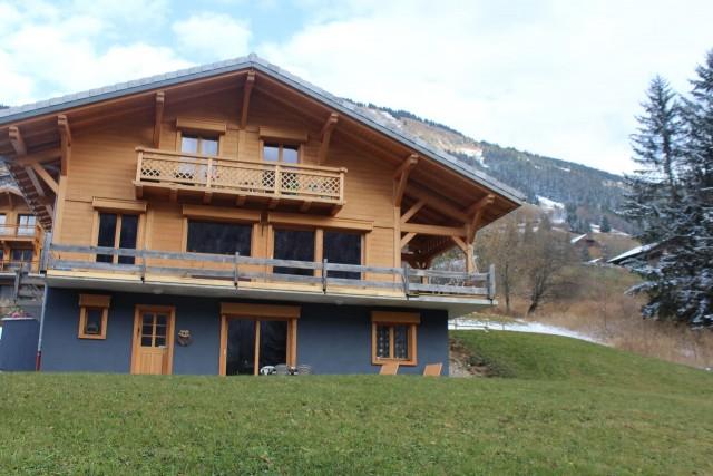 Appartement dans chalet le bois joli  exterieur Châtel alpes du nord