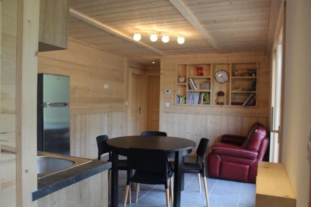 Appartement dans chalet le bois joli séjour Châtel