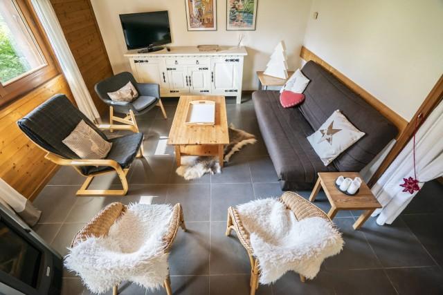 Appartement dans Chalet Les Barbules Salon Châtel