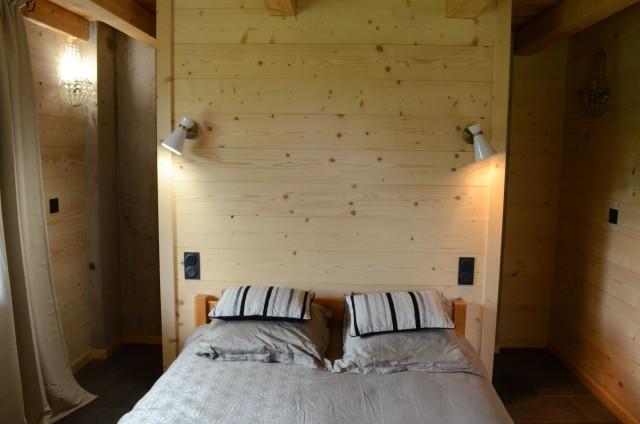 Appartement dans chalet Les Greniers Chambre Châtel Domaine Skiable