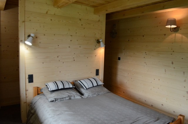 Appartement dans chalet Les Greniers Chambre Châtel Ski