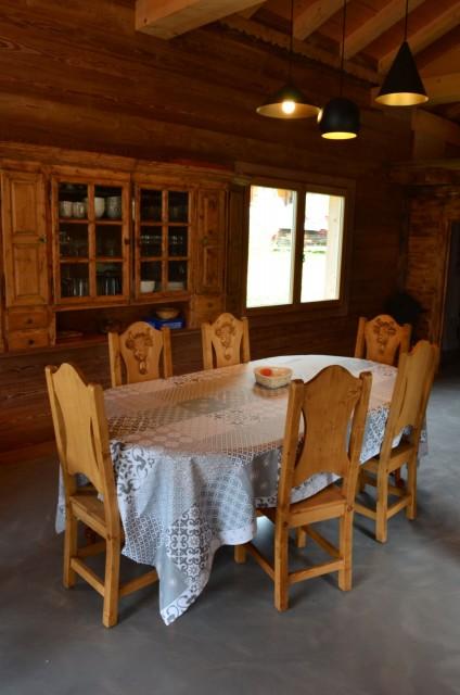 Appartement dans chalet Les Greniers Cuisine Châtel