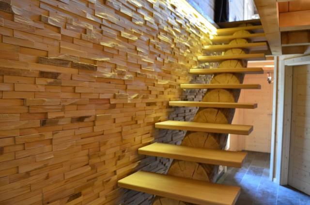 Appartement dans chalet Les Greniers Escalier Châtel