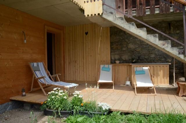 Appartement dans chalet Les Greniers Terrasse Châtel