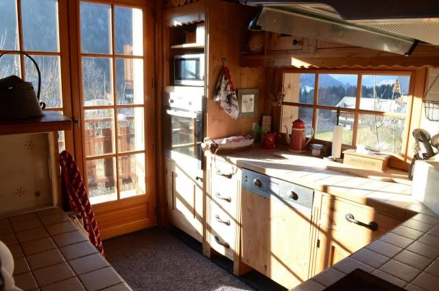 Appartement dans Chalet Sandettie Cuisine Châtel 2