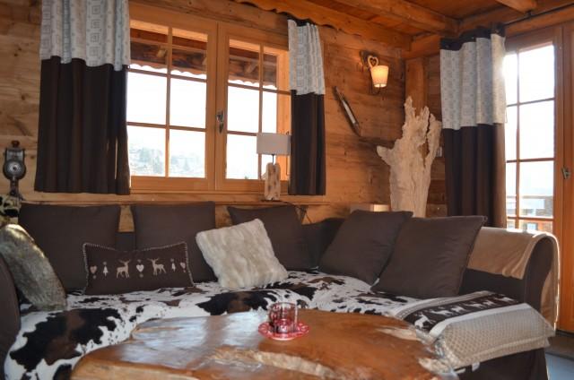 Appartement dans Chalet Sandettie Salon Châtel 3
