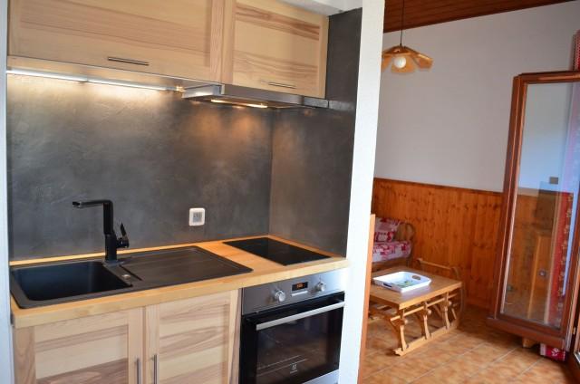 Appartement l'Alpage 11E Cuisine Châtel 74