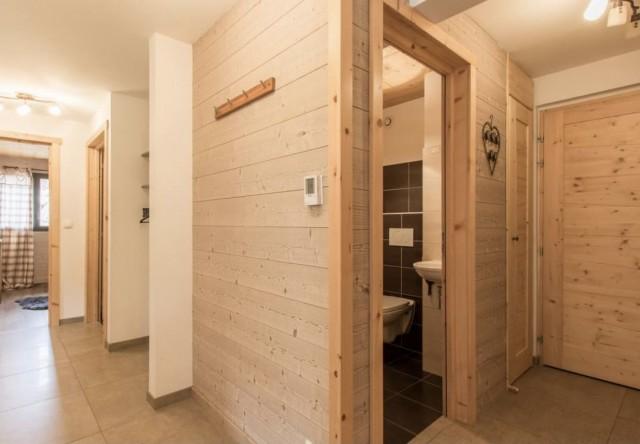 Appartement la Belette Couloir Châtel