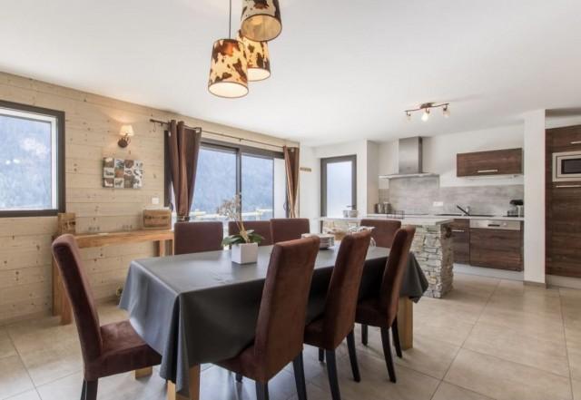 Appartement la Belette Cuisine Châtel Haute Savoie
