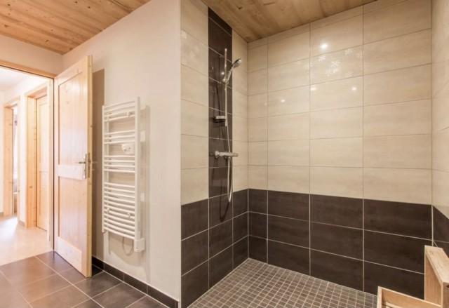 Appartement la Belette salle de douche Châtel Portes du Soleil