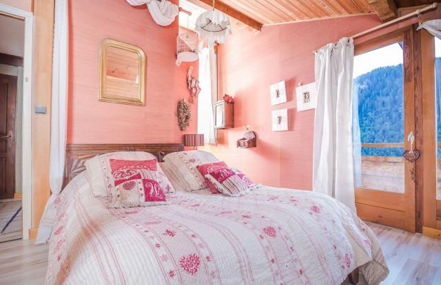 Appartement La Couqueille été Chambre Châtel Haute-Savoie
