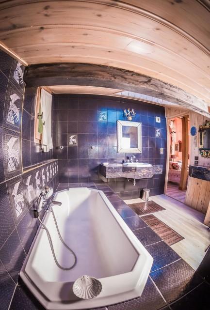 Appartement La Couqueille Salle de bain Châtel 2