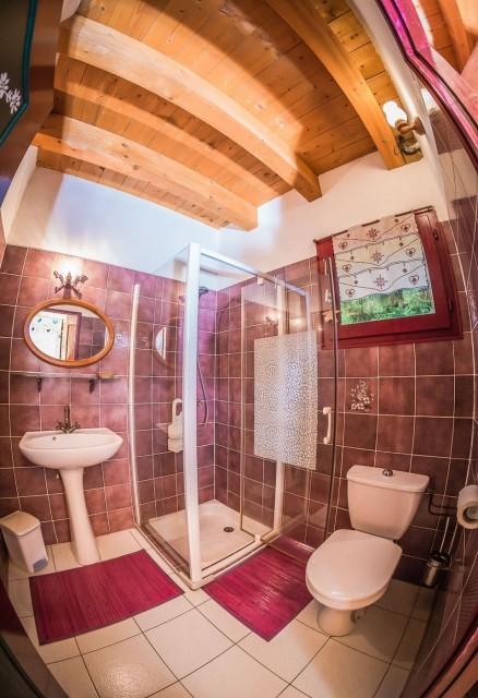 Appartement La Couqueille Salle de douche Châtel 2
