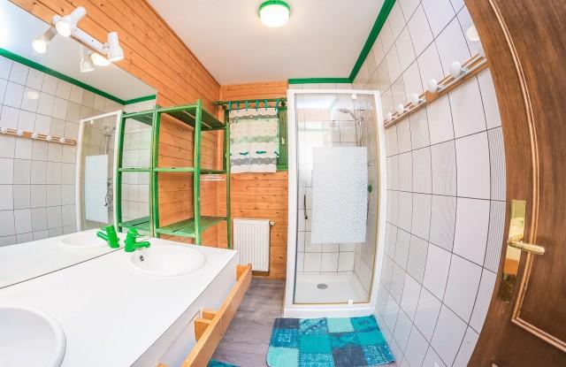 Appartement La Couqueille Salle de douche Châtel 74