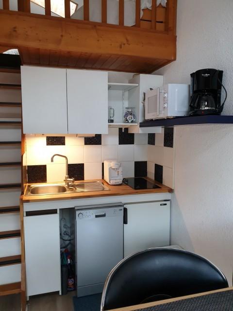Appartement la toison blanche 55 C Cuisine Châtel 74
