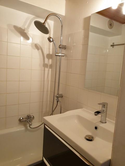 Appartement la toison blanche 55 C Salle de bain Châtel Haute Savoie