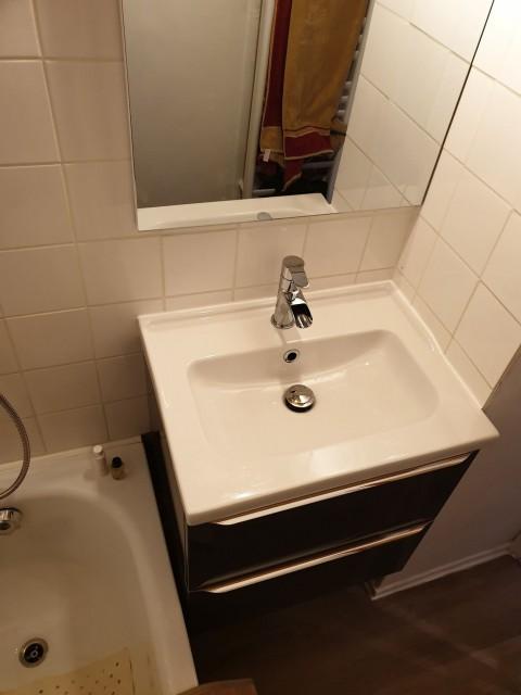 Appartement la toison blanche 55 C Salle de bain Châtel Portes du Soleil