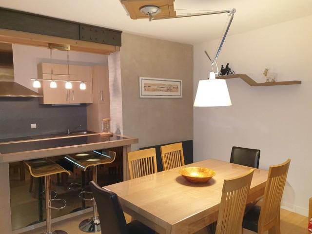 Appartement le morclan 14 cuisine Châtel 74