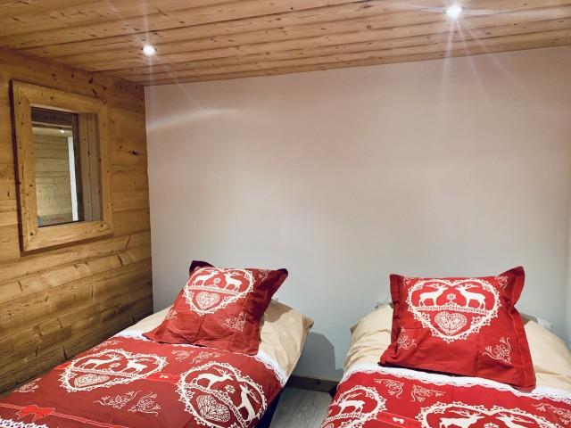 Appartement le Terroit 01B Chambre Châtel Domaine skiable