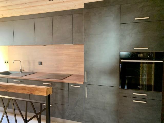 Appartement le Terroit 01B Cuisine Châtel