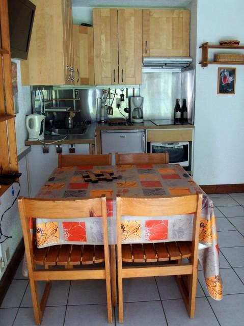 Appartement Les Covillets D, Cuisine Châtel