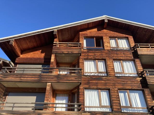 Appartement les Favioles n°9 résidence vue de l'extérieur Châtel