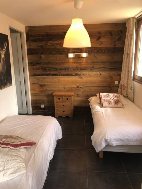 Appartement Martonne, Chambre 2 lits simples Châtel Portes du Soleil