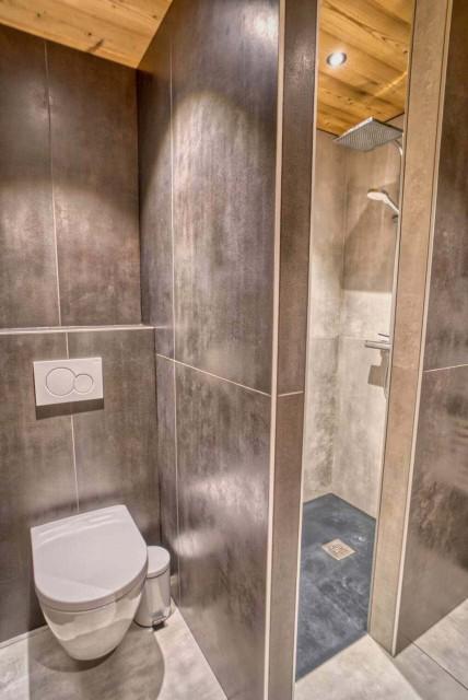 Appartement Martonne terrasse, Salle de douche, Châtel Portes du Soleil
