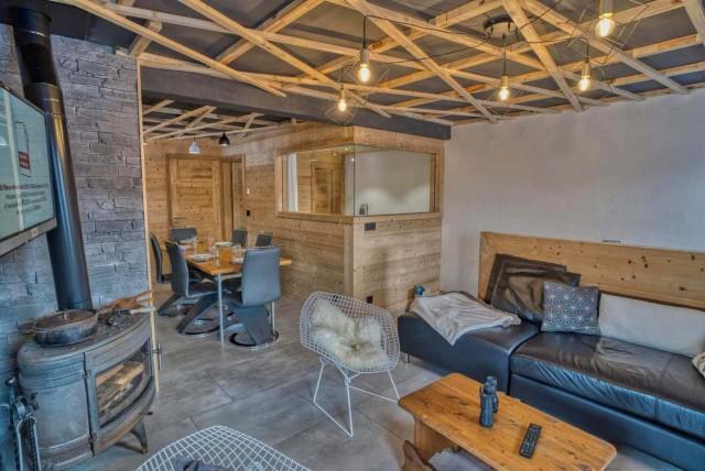 Appartement Martonne terrasse, Salon, Châtel Haute Savoie