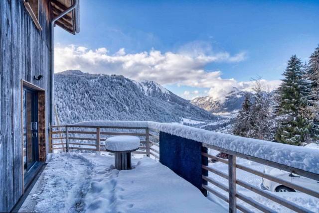 Appartement Martonne terrasse, terrasse, Châtel Haute Savoie