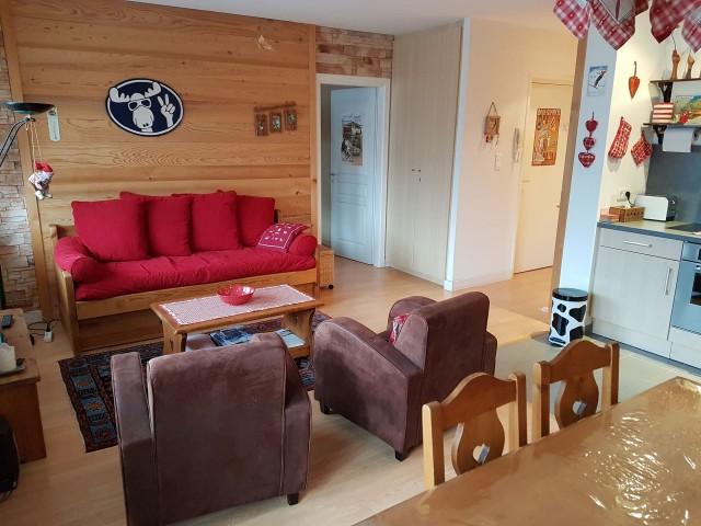 Appartement Morclan 3 Pièce de Vie Châtel  74